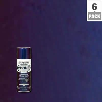 11 oz. Galaxy Blue Color Shift Spray Paint (6-Pack)