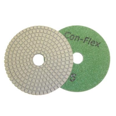 4 in. 5-Step Diamond Pads for Concrete Step 5