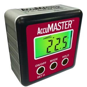 AccuMASTER 2-in-1 Digital Angle Gauge