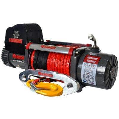 Samurai Series 12,000 lb. Capacity 12-Volt Electric Winch with 98 ft. Synthetic Rope