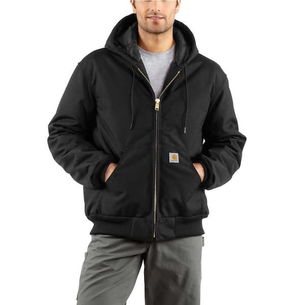 Carhartt Women/'s Dark Brown Hood Arctic Quilt Lined
