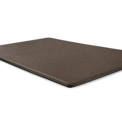 Brown Solid 18 in. x 30 in. Anti Fatigue Standing Mat