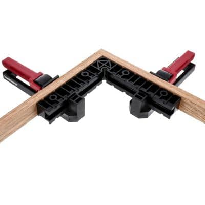 TrackClampKit100 90-Degree Clamp Track Kit (5-Piece)