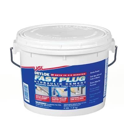 4 lb. Fast Plug Hydraulic Cement Mix