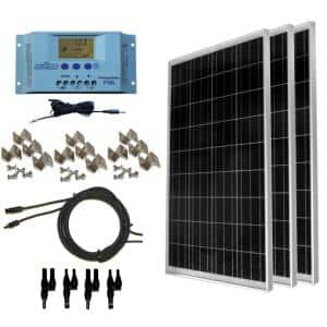300-Watt Off-Grid Polycrstalline Solar Panel Kit