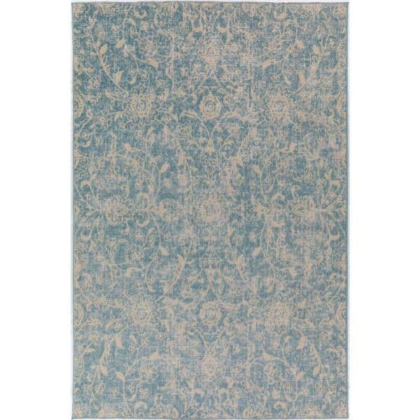 Addison Rugs Fergus 7 Sky 5 Ft X 7 Ft 5 In Area Rug Hdfg7sk5x7 The Home Depot