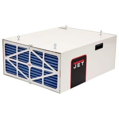 550/702/1044 CFM Air Filtration System with Remote and Electrostatic Pre-Filter, 3-Speed, 115-Volt, AFS-1000B