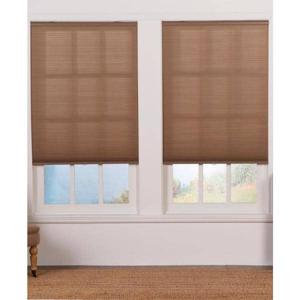 Perfect Lift Window Treatment Cut To Width Linen Cordless Light Filtering Cellular Shade 41 In W X 72 In L Qcln410720 The Home Depot