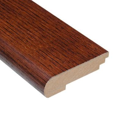 Oak Toast 3/8 in. Thick x 3-1/2 in. Wide x 78 in. Length Stair Nose Molding