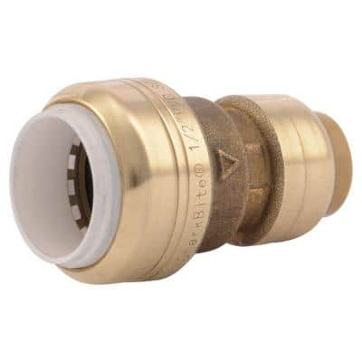 1/2 in. Push-to-Connect PVC IPS x CTS Brass Conversion Coupling Fitting
