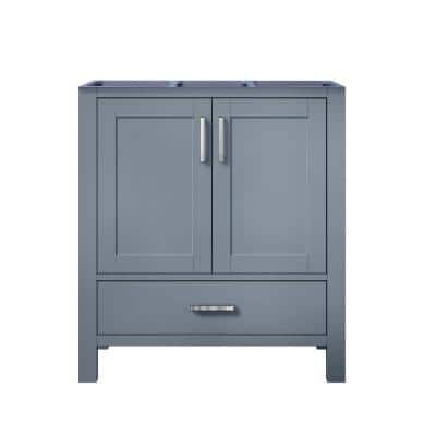 Jacques 29 in. W x 21.50 in. D  Bath Vanity Cabinet only in Dark Grey