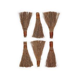 6 in. Cool Eucalyptus Scented Broom (6-Pack)