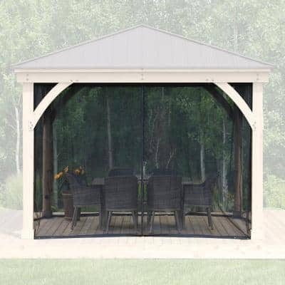 Mosquito Mesh Kit for 12 ft. x 12 ft. Meridian Gazebo