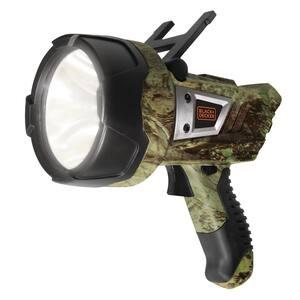 Rechargeable 600 Lumens 5-Watt LED Plus USB Lithium-Ion Camo Hand-Held Portable Spotlight