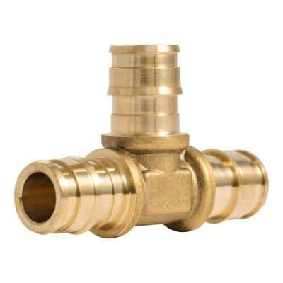 1/2 in. PEX-A Brass Expansion Tee Fitting