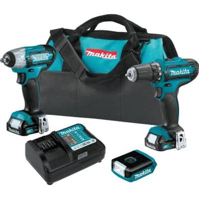 12-Volt MAX CXT Lithium-Ion Cordless 3-piece Combo Kit (Driver-Drill/Impact Wrench/Flashlight) 1.5 Ah
