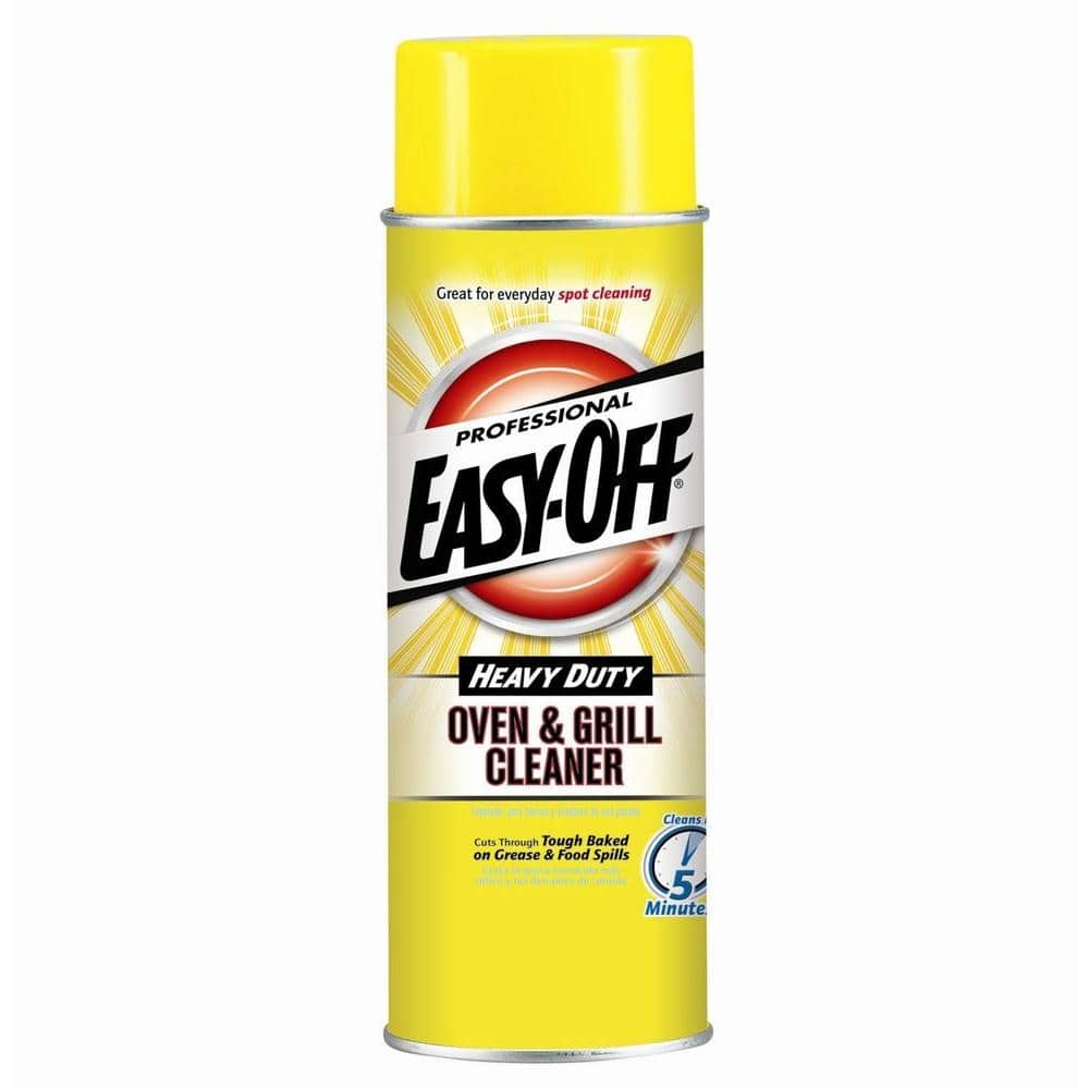 Easy Off Professional 24 Oz Heavy Duty Oven And Grill Cleaner 04250 The Home Depot