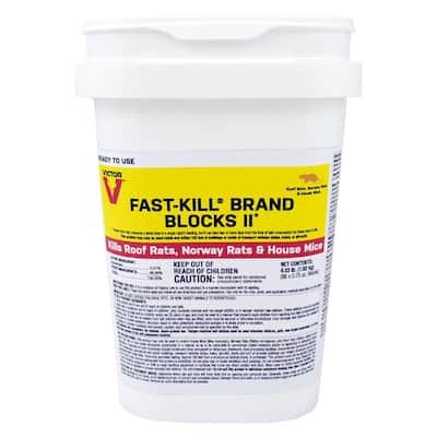 Fast-Kill 4.03 lbs. Rodenticide Bait Blocks
