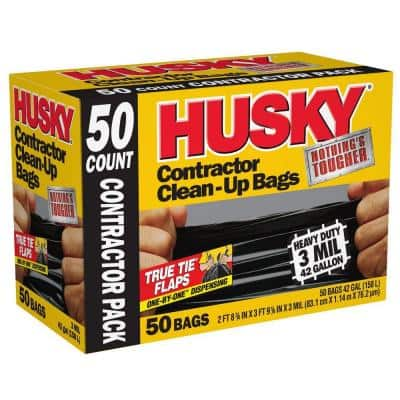 42 Gal. Contractor Bags (50-Count)
