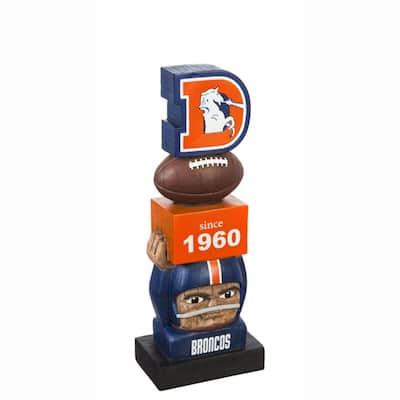 Denver Broncos NFL Vintage Team Garden Statue
