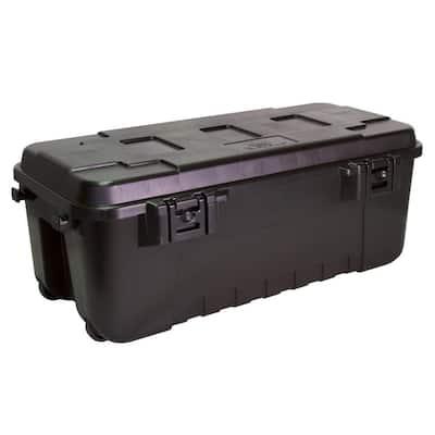 Black 108 Qt. Waterproof Storage Trunk