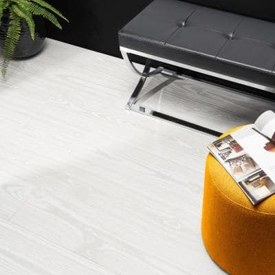 Craftwood Pearl 7.8 in. x 47.17 in. Matte Porcelain Floor and Wall Tile (12.91 sq. ft./Case)