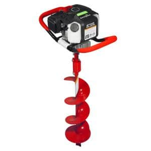 43 cc Earth Auger Powerhead with 8 in. Auger Bit