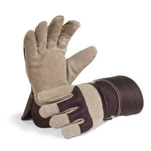 Men's Premium Suede Leather Palm Work Glove