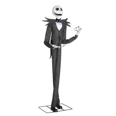 78 in. Animated Disney Jack Skellington