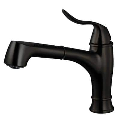 Surge Single-Handle Pull Out Sprayer Kitchen Faucet with CeraDox Technology in Oil Rubbed Bronze