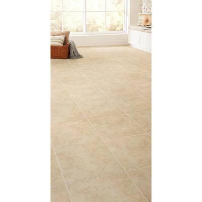 Baja 12 in. x 12 in. Beige Ceramic Floor and Wall Tile (15 sq. ft. / case)