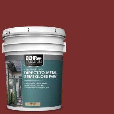 5 gal. #PPU2-02 Red Pepper Semi-Gloss Direct to Metal Interior/Exterior Paint