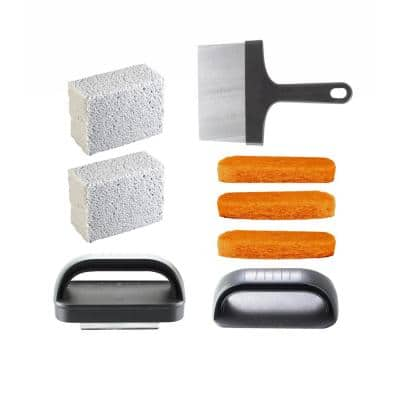 Griddle Cleaning Kit (8-Piece Set)