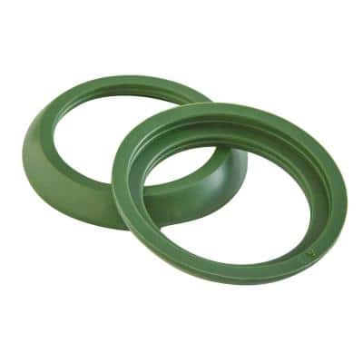 1-1/2 in. x 1-1/4 in. Sink Drain Pipe Rubber Slip-Joint Washer (2-Pack)