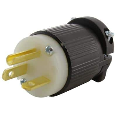20 Amp 250-Volt NEMA 6-20P 3-Prong Industrial Grade Have Duty Male Plug