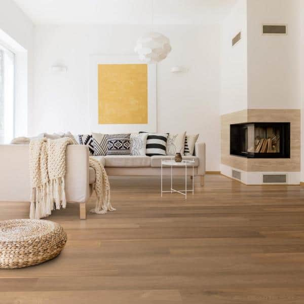 Cali Waterproof Core Wildwood Oak 11 32, Wildwood Glueless Laminate Flooring