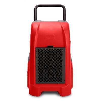 150-Pint Commercial Dehumidifier Water Damage Restoration Mold Remediation in Red
