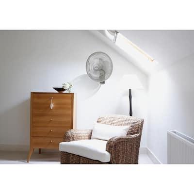 16 in. Industrial Grade Oscillating Wall Mount Fan