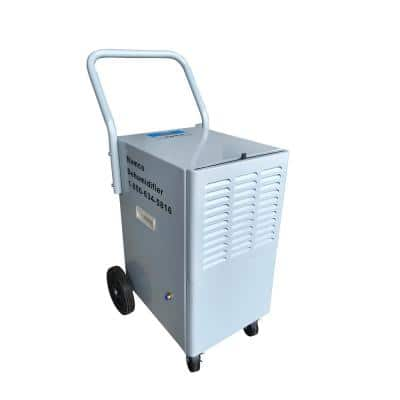 110-Pint Commercial Dehumidifier with Built-In Auto Pump Out