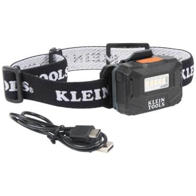 Rechargeable Light Array Headlamp with Fabric Strap