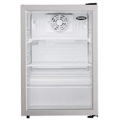 17.5 in. W 2.6 cu. ft. Commercial Refrigerator in Black