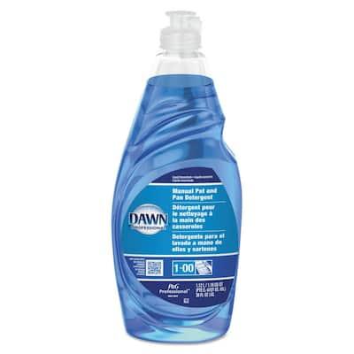 38 oz. Floral Scent Manual Pot and Pan Dish Detergent Liquid Bottle (Case of 8)