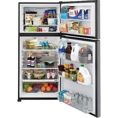 20.0 cu. ft. Top Freezer Refrigerator in Stainless Steel