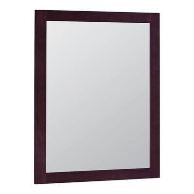 Modular 24 in. x 31 in. Framed Vanity Mirror in Java