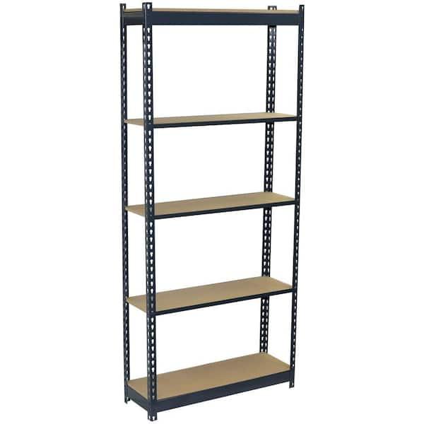 Storage Concepts 5 Tier Boltless Steel Garage Storage Shelving Unit 36 In W X 72 In H X 18 In D P2a5 3618 72w The Home Depot