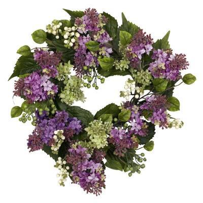 20 in. Hanel Lilac Wreath