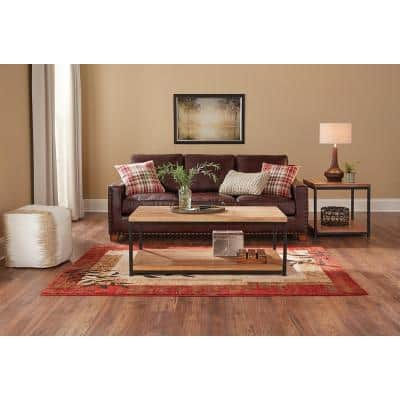 Linwood Red 2 ft. x 3 ft. Scatter Area Rug