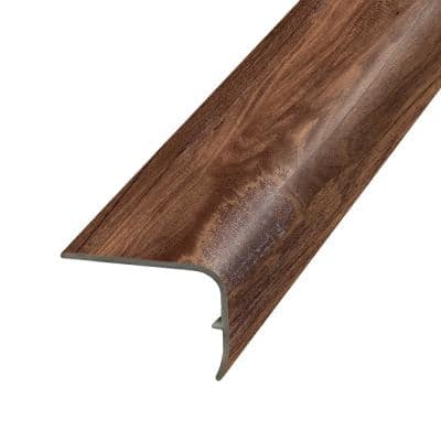 Copper 1.32 in. Thick x 1.88 in. Wide x 78.7 in. Length Vinyl Stair Nose Molding