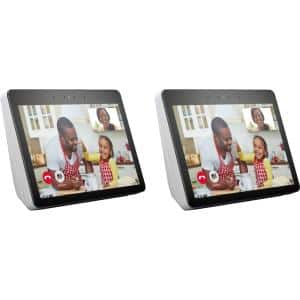 Echo Show in Sandstone (Gen 2) (2-Pack)