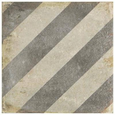 D'Anticatto Decor Obliqua 8-3/4 in. x 8-3/4 in. Porcelain Floor and Wall Tile (11.25 sq. ft. / case)